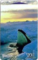 New Zealand - Orca, Antarctica II, 411DO, 1997, 70.000ex, Used - New Zealand