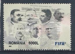 Romania Romana Rumänien 2003 Mi 5782 ** Seven Founders Of FIFA - Cent FIFA / Sieben Gründer Der FIFA - Football