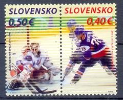 SLOVAKIA  (OEU 350) - Hockey (Ijs)