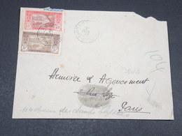 """COTE D'IVOIRE - Oblitération """" Korok """" Sur Enveloppe En 1937 Pour Paris - L 17779 - Côte-d'Ivoire (1892-1944)"""