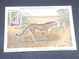 MAURITANIE - Carte Maximum Du Guépard - L 17781 - Côte-d'Ivoire (1892-1944)