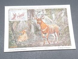 MAURITANIE - Carte Maximum De L 'Antilope - L 17784 - Côte-d'Ivoire (1892-1944)
