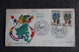 FDC - EUROPA 1957 : Exposition Philatélique PARIS, 16 Septembre 1957. - FDC