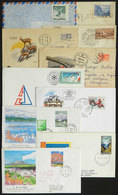 4 TOPIC MOUNTAINS: TOPIC MOUNTAINS: More Than 200 Covers And Postal Stationeries, Most With Postmarks And/or Illustratio - Geology