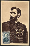 10 FRENCH EQUATORIAL AFRICA: Maximum Card Of 25/JA/1953: Pierre Savorgnan De Brazza, Italian Explorer, VF Quality - A.E.F. (1936-1958)