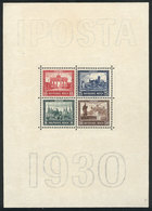 21 GERMANY: Yvert 1, 1930 IPOSTA, Mint Without Gum, Very Fine Quality! - Germany
