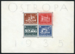 23 GERMANY: Yvert 3, 1935 OSTROPA, Mint Without Gum, Minor Defects (the 12Pg. A Little Faded With Some Open Perforations - Germany