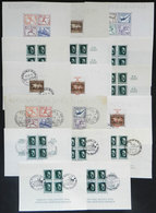 24 GERMANY: Yvert 4/11, Lot Of Used And Mint Souvenir Sheets (with Or Without Gum), Very Fine General Quality. Catalog V - Germany