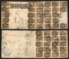 37 GERMANY: Spectacular INFLA POSTAGE: Cover Sent From Berlin To Breslau On 28/AU/1923 With Large Postage Affixed On Fro - Germany