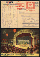 40 GERMANY: Beautiful PC Of The Inauguration Of The Scala Theater, With Special Slogan Cancel Of 21/MAR/1932, Sent To Ur - Germany