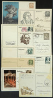 42 GERMANY: 9 Cards (most Are Postal Cards) Used Between 1933 And 1944, Interesting! - Germany