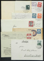 43 GERMANY: 7 Covers Or Cards Of 1934/1938, Interesting! - Germany