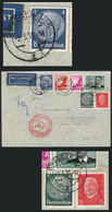 47 GERMANY: Airmail Cover Sent From Dresden To Brazil On 2/MAY/1935 Franked With 2.75Mk., The Definitive Stamps (not The - Germany