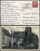 57 GERMANY: 2 Postcards Sent To Agentina In 1936 With Slogan Machine Cancels Advertising The Berlin Summer Olympic Games - Germany