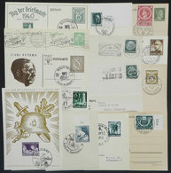 66 GERMANY: 13 Covers Or Cards Of 1937/1944, All With Special Nazi Postmarks, VF General Quality, Interesting! - Germany