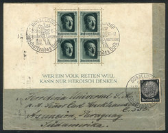 68 GERMANY: Cover Sent From Düsseldorf To Paraguay On 3/MAY/1937 With Very Nice Franking! - Germany