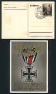 84 GERMANY: Postal Card Illustrated On Back With Nazi Motifs, With Special Cancel Applied In Berlin On 19/JUL/1940. - Germany