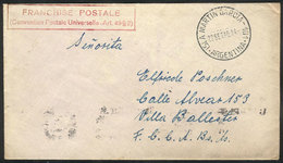 85 GERMANY: WWII INTERNED GERMAN SAILORS OF CRUISER GRAF SPEE IN ARGENTINA: Cover Sent By A Sailor Of The Cruiser Graf S - Germany