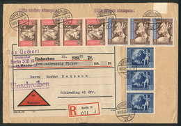 89 GERMANY: Registered Cover Sent From Berlin To Schirding On 20/DE/1942 With Very Handsome Postage, VF Quality - Germany