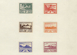 105 GERMANY: Varied Lot With Stamps Of Wurtemberg, Occupations, Back-of-the-book, Etc Etc., On Pages From Varied Old Col - Germany