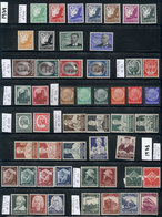 107 GERMANY: Collection Of Good Stamps And Sets In Stock Pages, Issued Between Circa 1930 And 1945, Including A Good Sel - Germany