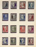 108 GERMANY: Small Very Old Collection On Album Pages, Very Fine General Quality! - Germany