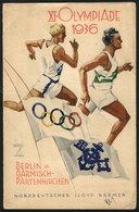 119 GERMANY: Dinner Menu Of Ship 'Europa' Of Nordeutscher Lloyd Bremen For 24/JUL/1936 (3rd Class), With Nice Illustrati - Books, Magazines, Comics