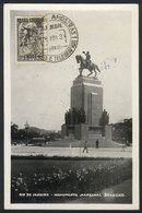 879 BRAZIL: President Deodoro DA FONSECA, Maximum Card Of NO/1939, VF - Maximum Cards