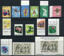 1126 KOREA: Lot Of Very Thematic Stamps And Sets Of Excellent Quality, Yvert Catalog Value Over Euros 50, Low Start! - Korea (...-1945)