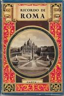 2 LIVRETS LIEUX  TOURISTIQUES ROME - BELLES ILLUSTRATIONS + CARTE DE ROME -  11,5cm X 17cm - Tourisme, Voyages