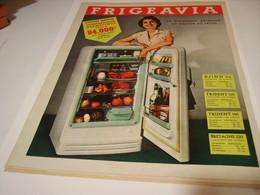 ANCIENNE AFFICHE PUBLICITE FRIGO FRIGEAVIA 1955 - Non Classificati