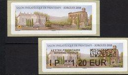 LISA **--IP 1.20 € - De 20g Europe--Salon Phila De Printemps 2018--84-SORGUES - 2010-... Illustrated Franking Labels