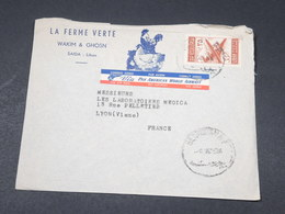LIBAN - Enveloppe Commerciale De Saida Pour Lyon - L 17824 - Liban