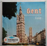 VIEW MASTER  POCHETTE DE 3 DISQUES  :  GENT - GAND    C 366 - Stereoscopes - Side-by-side Viewers