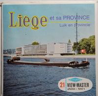 VIEW MASTER  POCHETTE DE 3 DISQUES  :  LIÈGE ET SA PROVINCE    C 364 - Stereoscopes - Side-by-side Viewers