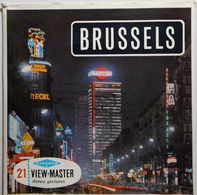 VIEW MASTER  POCHETTE DE 3 DISQUES  :  BRUSSELS     C 358 - Stereoscopes - Side-by-side Viewers