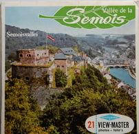VIEW MASTER  POCHETTE DE 3 DISQUES  :  VALLÉE DE LA SEMOIS     C 352 - Stereoscopes - Side-by-side Viewers