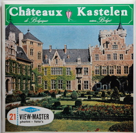 VIEW MASTER  POCHETTE DE 3 DISQUES  :  CHÂTEAUX KASTELEN     C 350 - Stereoscopes - Side-by-side Viewers