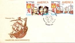 AMERICA  FDC DISCOVERY OF AMERICA    (MAGG180619) - Central America