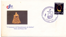 AMERICA  FDC DISCOVERY OF AMERICA    (MAGG180617) - Amérique Centrale
