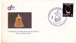 AMERICA  FDC DISCOVERY OF AMERICA    (MAGG180617) - Central America