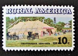 INSTITUTION CHAUTAUQUA 1974 - NEUF ** - YT 1034 - MI 1154 - Etats-Unis