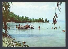 Hungria. Lake Balaton *Greetings From The Lake Balaton* Foto: Tulok Ferenc. Circulada 1972. - Hungría
