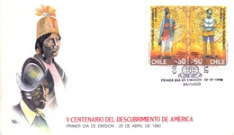 AMERICA  FDC DISCOVERY OF AMERICA    (MAGG180618) - Amérique Centrale