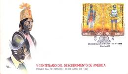 AMERICA  FDC DISCOVERY OF AMERICA    (MAGG180618) - Central America