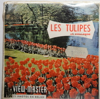 VIEW MASTER  POCHETTE DE 3 DISQUES  :  LES TULIPES     C 385 - Stereoscopes - Side-by-side Viewers