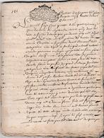 1715  St CLAR DE LOMAGNE (32) Contrat D'achat Entre Pierre DARQUIER Bourg Et Daniel BLOT, Marchand - Documents Historiques