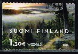 Finnland 2016, Michel# 2432 - 2433 O Visiting Cards From Finland - Gebraucht