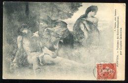 CPA Non écrite 01 NANTUA Tableau De Saint Sébastien Par Eugène Delacroix - Nantua