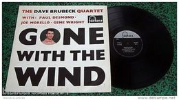 LP 30cm < * DAVE BRUBECK QUARTET *< GONE WITH THE WIND < FONTANA 682 060 TL - Jazz